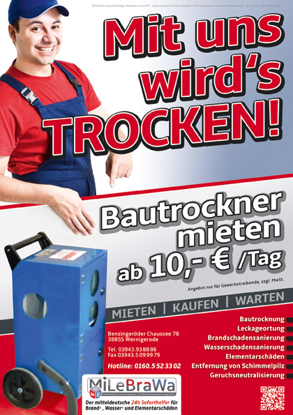 Flyer Bautrockner Angebot 2015